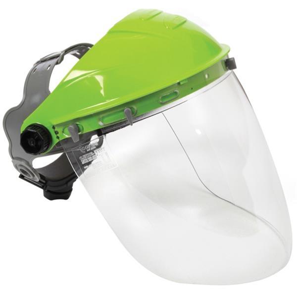 Esko Tuff Shield Safety Visor & Browguard Clear Lens