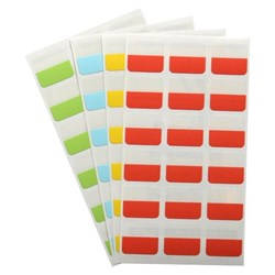3L Index Tabs 25mm Assorted Colours 72 Tabs