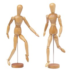 Female Human Body Manikin Model 12 Inch