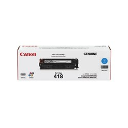 Canon CART418C Cyan Laser Toner Cartridge
