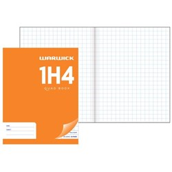 Warwick 1H4 Exercise Book 10mm Quad 28 Leaves