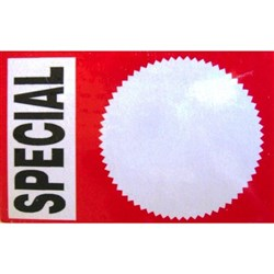 Cristo Special Display Tickets TA502 60x90mm, Pack of 100