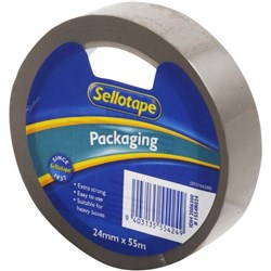 Sellotape 1554 Packaging Tape 24mm x 55m Brown