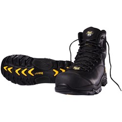 Mack Granite Safety Boots Lace Up UK Size 11 Black