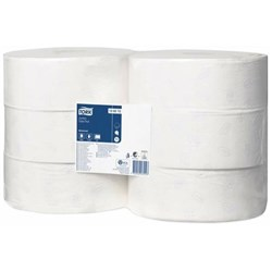 Tork T1 Advanced Recycled Jumbo Toilet Tissue 120272, Carton of 6