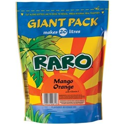 Raro Powdered Drink Orange Mango 1.6kg