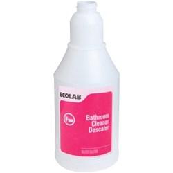 Ecolab Bathroom Descaler Cleaner Licator Bottle