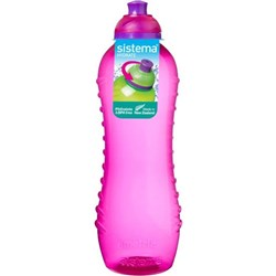 Sistema Squeeze Drink Bottle Pink 620ml