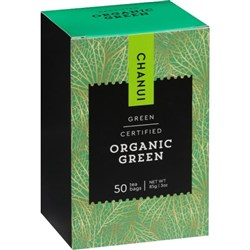 Chanui Organic Green Tagless Tea Bag, Box of 50