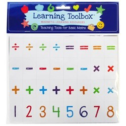 Learning ToolboxMagnetic Numbers Basic Maths, Set of 64