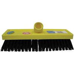 Floor Tile Scrubbing Brush Head 255mm Black Bristles