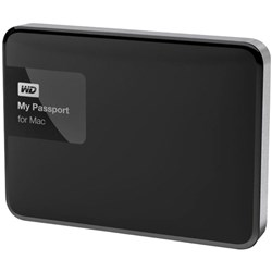 Western Digital My Passport 2TB External Hard Drive formatted for Mac