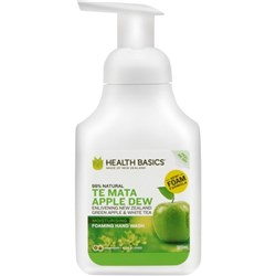 Health Basics Foam Hand Wash Te Mata Apple Dew 300ml
