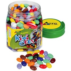 TFC Kiwi Eggs Counters Assorted Colours Tub of 500