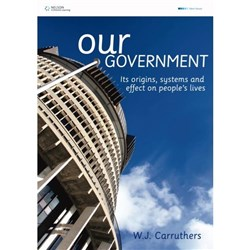 Our Government Textbook 9780170182232