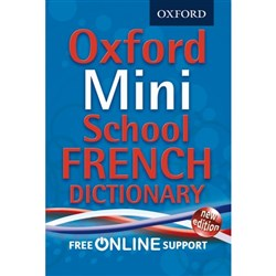 Oxford Mini School French Dictionary 9780192757081