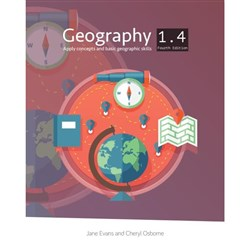 Geography 1.4 Workbook Level 1 Year 11 9780947496395