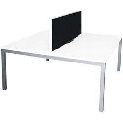 Office Desk Table For Xr1 Desk Pod Snowdriftsilver Office Desks Tables Officemax Nz