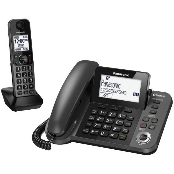 Panasonic KX-TGF380AZM Corded/Cordless Answer Phone Combo