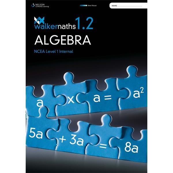 Walker Maths 1 2 Algebra Workbook 9780170370387