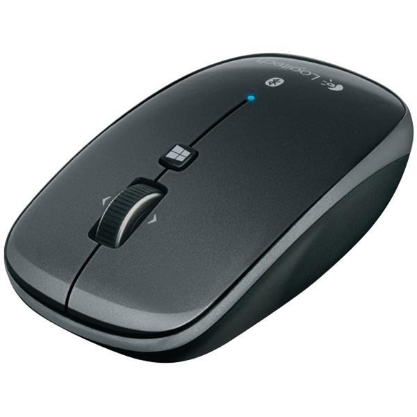 6371058b40b Logitech M557 Bluetooth Mouse Grey   OfficeMax NZ