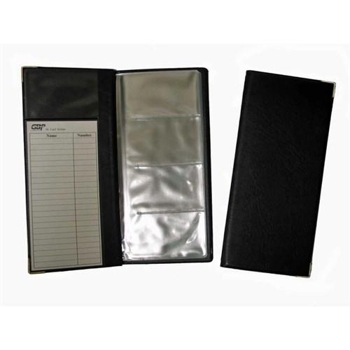 Executive Business Card Holder Slimline 96 Card Capacity