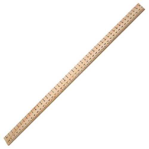 Wooden Ruler 1 Metre
