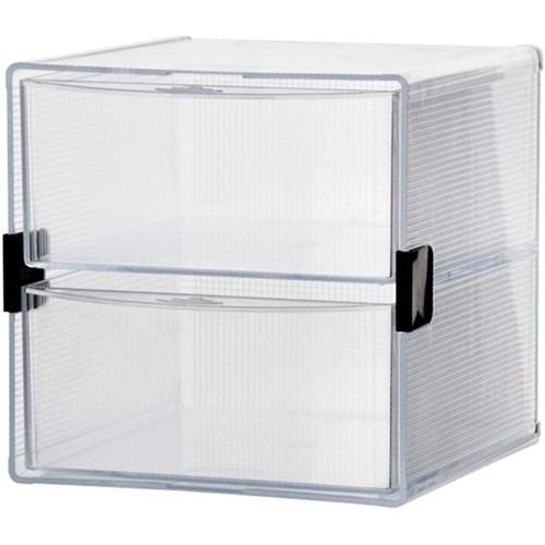 Esselte Modular Desk Organiser Cube 2 Drawer