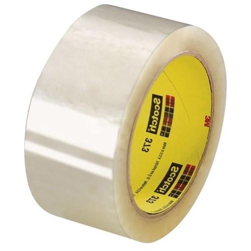 SCOTCH Carton Sealing Tape,Yellow,48mm x 50m 373