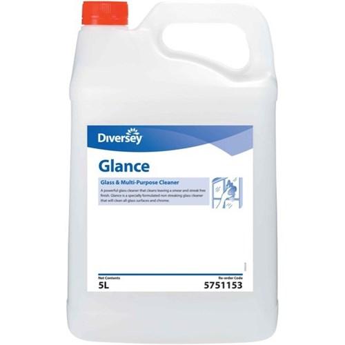 Diversey Glance Glass & Multipurpose Cleaner 5 Litre