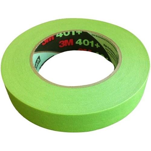 3M™ 401+ Masking Tape 12mm x 55m Green