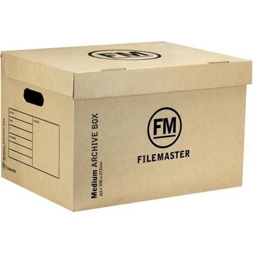 FM Medium Strength Archive Storage Box A3 Kraft