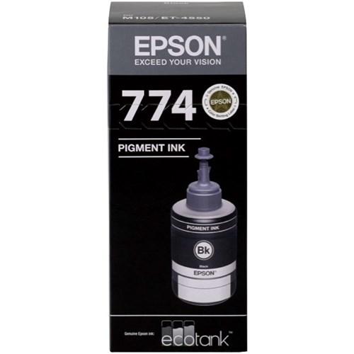 Epson T774 EcoTank Ink Bottle 140ml Black