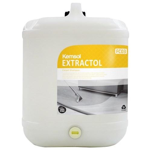 Kemsol Fc03 Extractol Carpet Cleaner Shampoo 20l