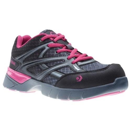 037c75dee7e Wolverine Jetstream Ultralight Women's Safety Shoes Grey/Pink Size 9