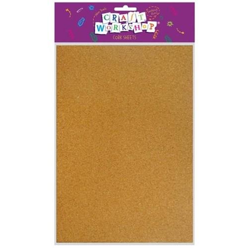 Craft Cork Sheet A4 Pack Of 10 Officemax Nz