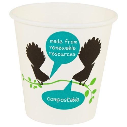 Vegware Friendlypak Hot Paper Cup Compostable 230ml, Carton of 1000