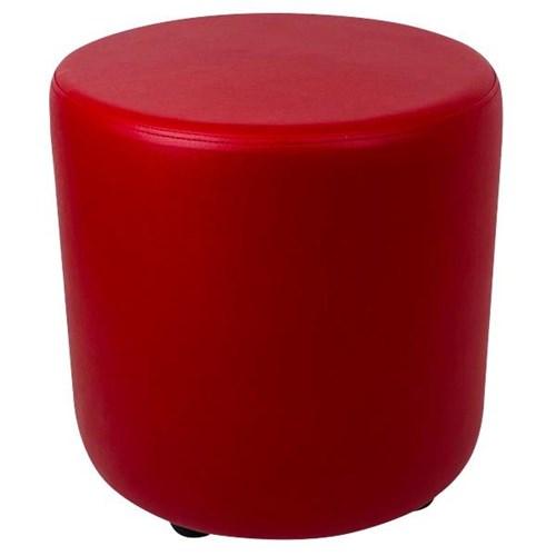 Ottoman Round 450mm Red Officemax Nz, Round Red Ottoman