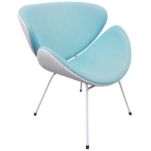 Nice Lip Look Chair Globe Glacier/Gili Kingfisher/Silver