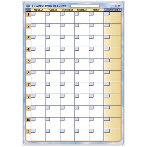 writeraze perpetual term planner whiteboard , 700x1000mm | officemax nz