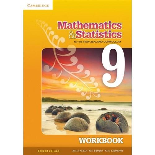 Mathematics & Statistics for the NZ Curriculum Workboo Year 9 9781107653573