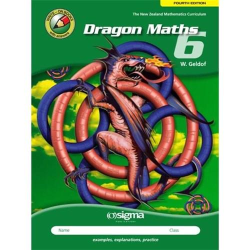 Dragon Maths 6 Workbook Year 8 9781877567780