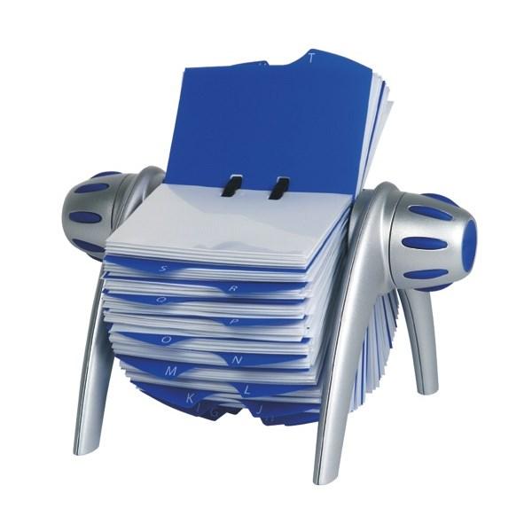 Visifix rotary flip business card file 400 capacity officemax nz visifix rotary flip business card file colourmoves