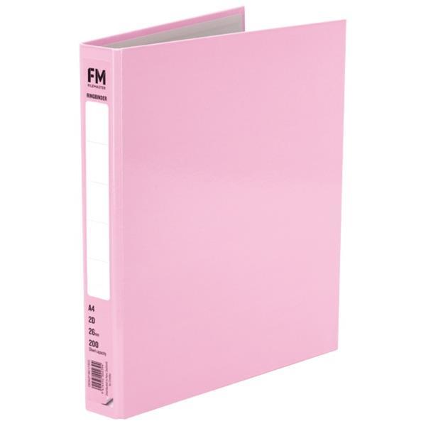 FM Ringbinder 2D A4 Pastel Piglet Pink