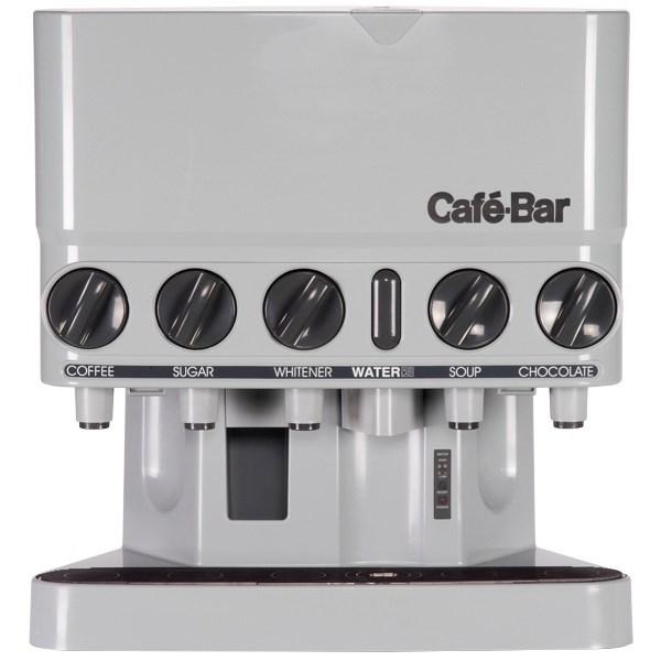 Caf 233 Bar Quintet Plumbed Clicker Dispenser Caddy
