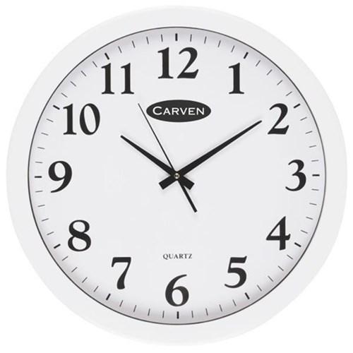 Carven Analogue Wall Clock 450mm Officemax Nz