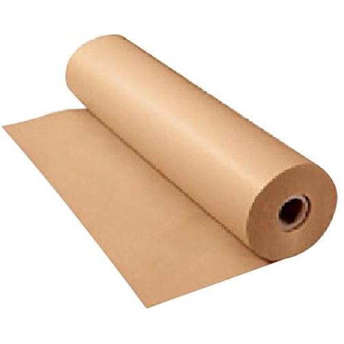 Kraft brown paper roll 80gsm 600mm x 250m officemax nz for Brown craft paper rolls