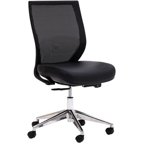 Flight Chair Mesh Back Black Officemax Nz