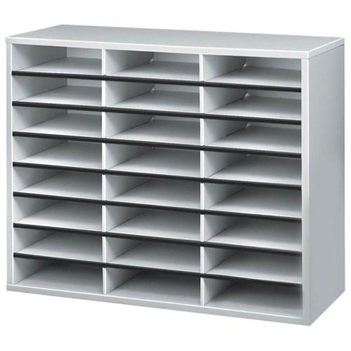 Fellowes Literature Sorter, 24 Compartment, 595x737x30mm
