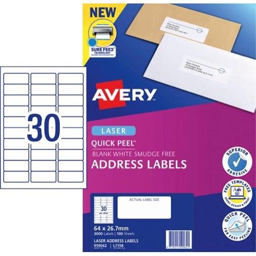 30 per page label template